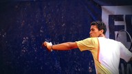 Jovem tenista dribla as dificuldades com muito talento