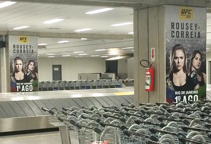 Aeroporto do Rio de Janeiro convida para o UFC Rio 7