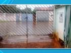 UPA Vila Almeida alaga durante chuva forte e é interditada na capital de MS