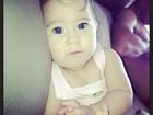 Perlla publica foto da filha: 'Meu chaveirinho'