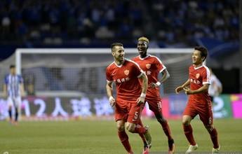 Diego Maurício faz golaço, mas não evita derrota em casa do Shijiazhuang