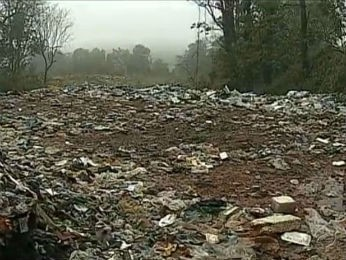 Usina foi fechada pelo IAP por estar contra as normas ambientais (Foto: Reprodução/RPC TV)