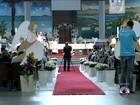 Bispo celebra missa de 7º dia de Luiz Henrique da Silveira em Joinville, SC
