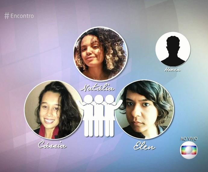 Conheça a história das três mulheres que foram enganadas pelo mesmo homem  (Foto: TV Globo)