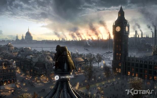 Imagem vazada na internet mostra Big Ben em 'Assassin's Creed Victory' (Foto: Reprodução/Kotaku)