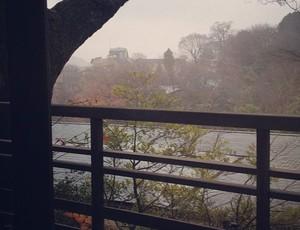 Paulo André Corinthians férias no Japão (Foto: Reprodução / Instagram)