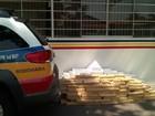 Polícia apreende cerca de 430 kg de maconha dentro de carro em MG