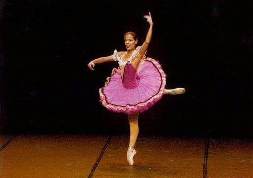 Nina Barbosa bailarina (Foto: Arquivo Pessoal)