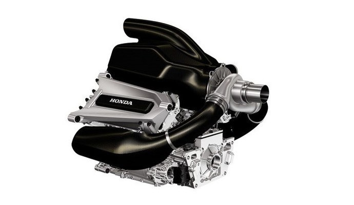 Motor Honda V6 turbo 2015 - McLaren-Honda (Foto: Divulgação)
