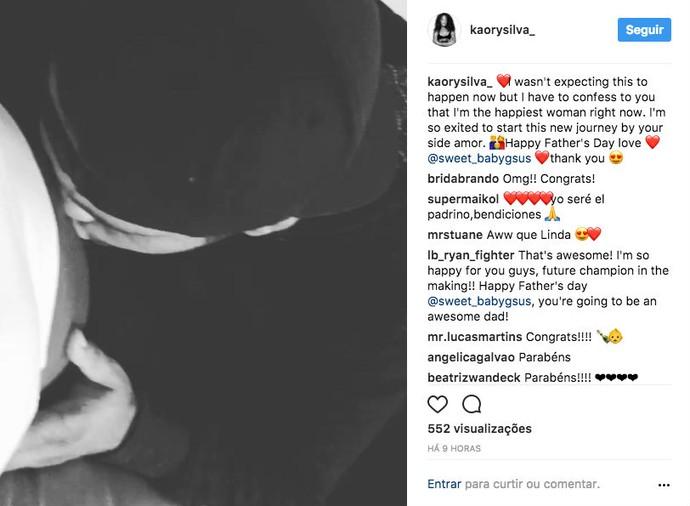 Kaory Silva instagram (Foto: Reprodução/Instagram)
