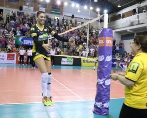 Rio do Sul x Vôlei Bauru, Superliga feminina, Helô (Foto: Divulgação / Rio do Sul)