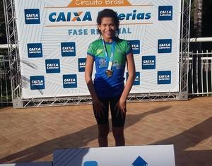Acreana Rebeca Campos conquista medalhas de ouro  (Foto: Rebeca Campos /Arquivo Pessoal)