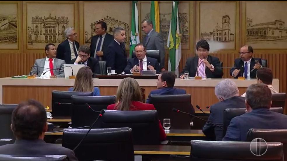 Em ultima sessão do primeiro semestre de 2017, Câmara Municipal de Natal elege mesa diretora que vai assumir em 2019 (Foto: Inter TV Cabugi)