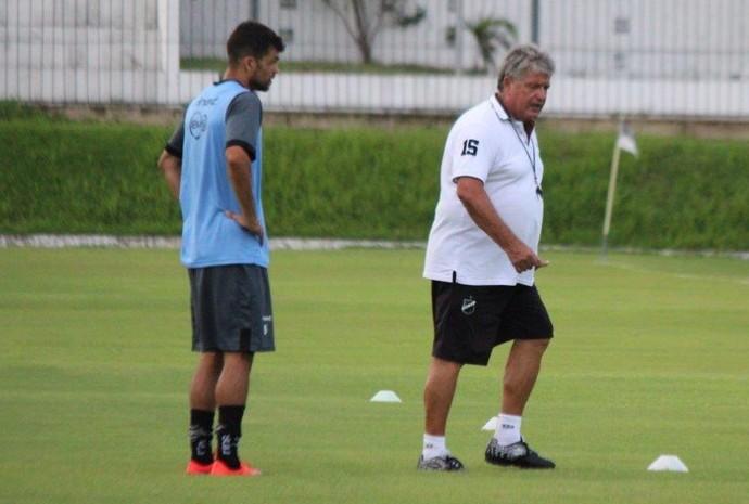 ABC - Márcio Passos - Geninho - Filipi Sousa (Foto: Assessoria de Comunicação/ABC FC)