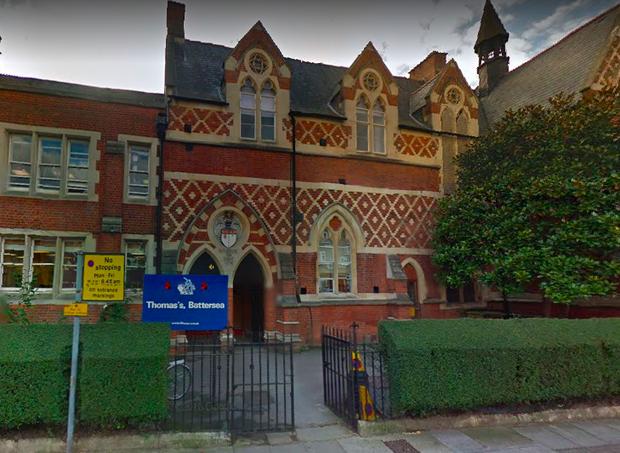 Fachada da escola do príncipe George  (Foto: Reprodução Google Maps)