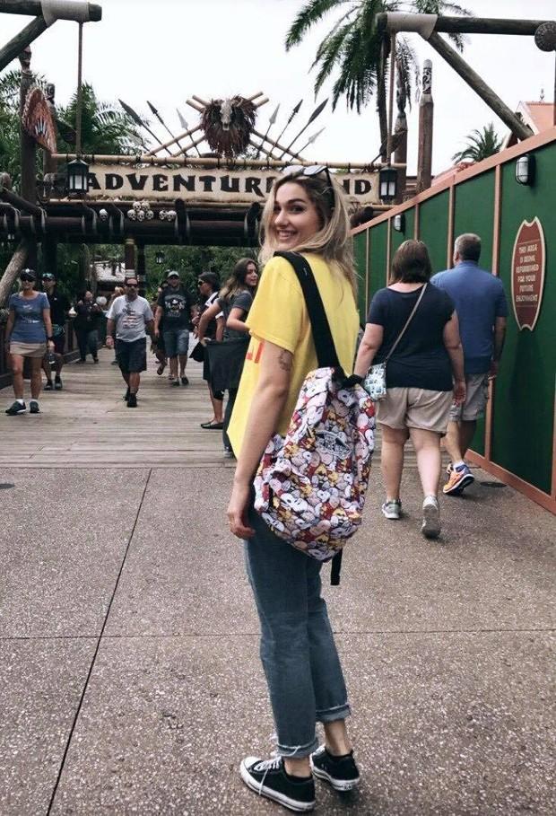 Sasha na Disney (Foto: Reprodução/Instagram)