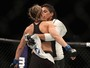 Inspirada em Amanda, Nina Ansaroff controla luta e vence primeira no UFC