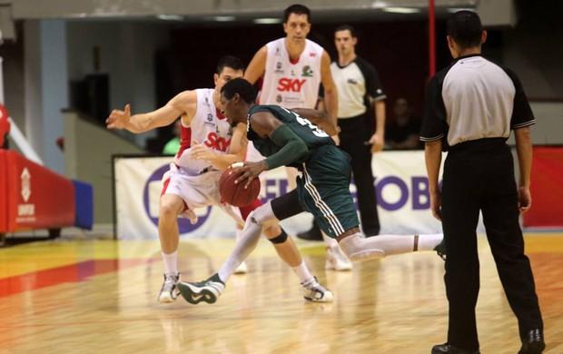 Cearense x Palmeiras basquete NBB (Foto: LC Moreira / Divulgação)