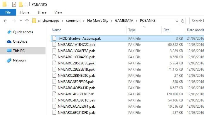 Como fazer o download e instalar mods em No Man's Sky