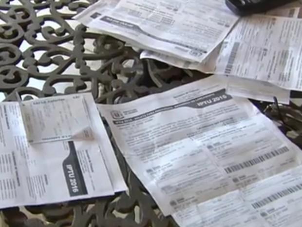 Prefeitura de Goiânia deixa de enviar boletos do IPTU para contribuintes (Foto: Reprodução/TV Anhanguera)