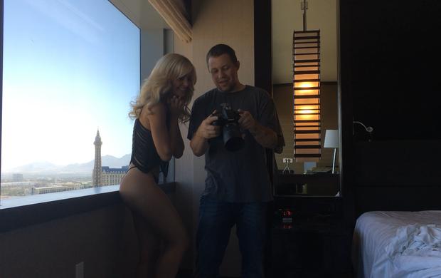 Jhenny Andrade, UFC, ensaio sensual