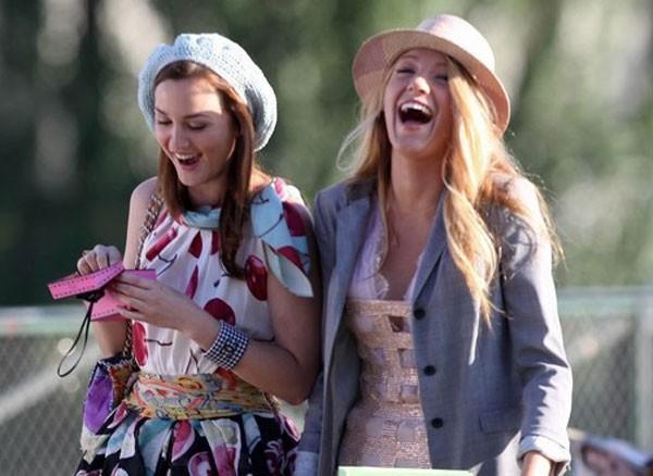 Leighton Meester e Blake Lively como Blair e Serena (Foto: Divulgação)