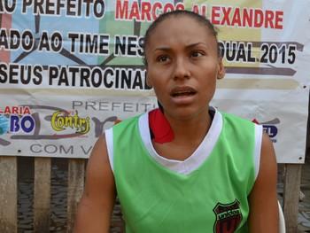 Monique Corrêa, 25 anos,  (Foto: Murilo Lima)