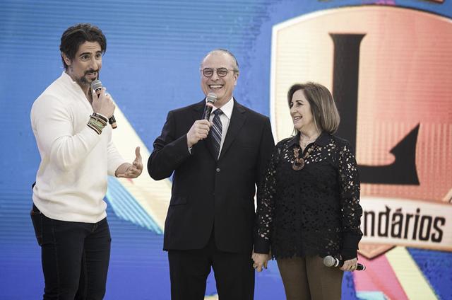 Marcos Mion no 'Legendários' (Foto: Edu Moraes/Record)