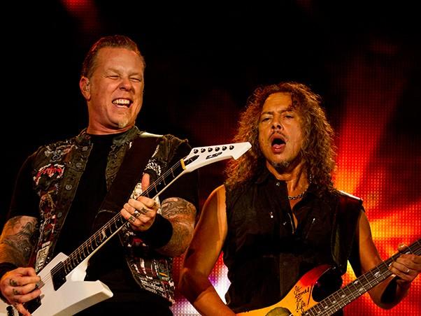 Palco Mundo - Metallica (Foto: Andr Bittencourt)