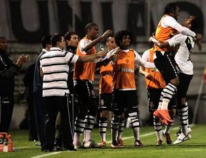 alecsandro carlos alberto vasco gol portuguesa (Foto: Rahel Patrasso / Agência Estado)