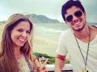 Rodrigo Simas volta a dançar com sua parceira em evento para 1.500 pessoas