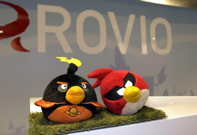angry birds rovio (Foto: AP)