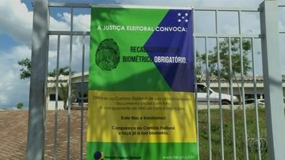 Cidades no norte de Goiás não devem cumprir calendário de cadastramento biométrico