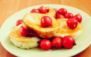 Omelete doce de banana com whey protein
