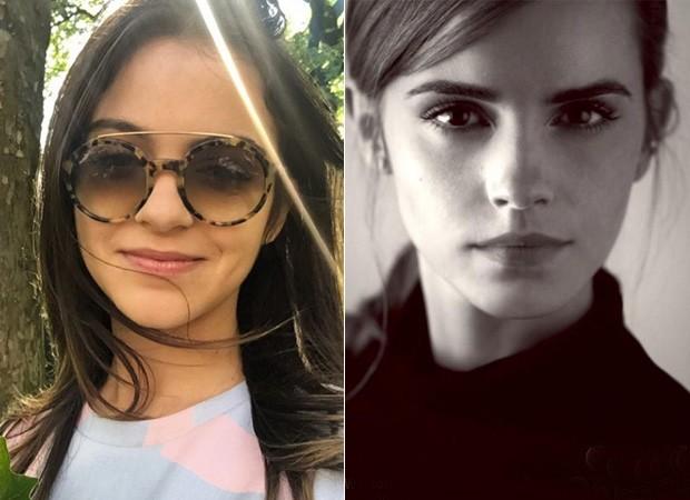 Pally Siqueira e Emma Watson (Foto: Instagram / Reprodução)