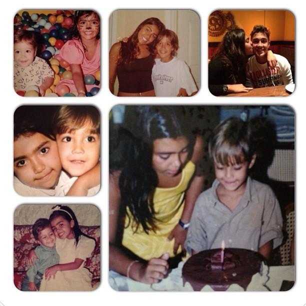 Romarinho posta foto com a irmã (Foto: Instagram / Reprodução)