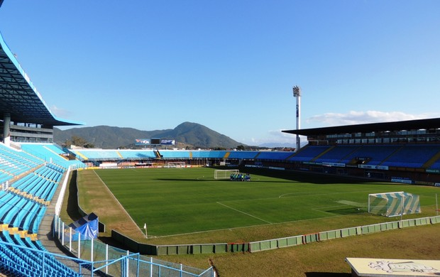 Ressacada estádio Avaí (Foto: Marcelo Silva)