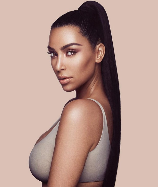 Kim Kardashian ensina como fazer um make nude perfeito (Foto: Reprodução / Instagram)