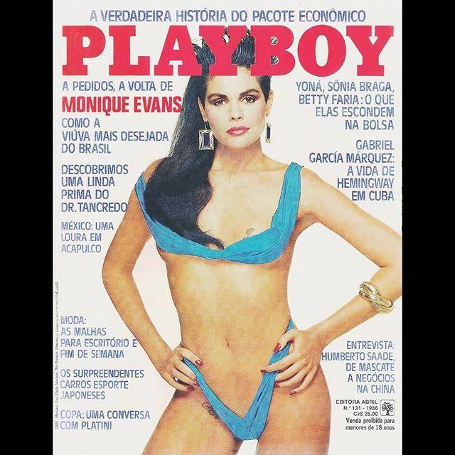"""Monique Evans comenta fim da Playboy: """"Triste pelo fechamento!'"""