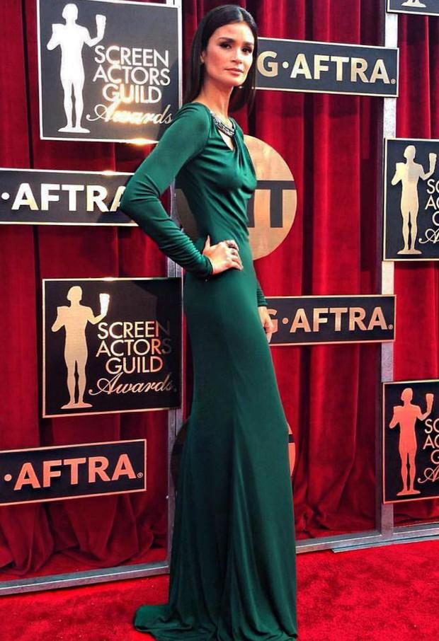 Carol Ribeiro no SAG Awards 2016 (Foto: Reprodução / Instagram)