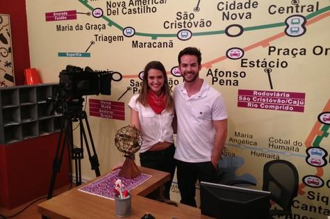 Juliana Paiva e Bruno Dubeux em 'Malhação' (Foto: Divulgação)