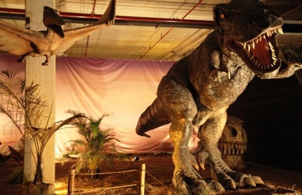 Goiânia recebe exposição de dinossauros até dezembro (Foto: Divulgação/Portal Shopping)