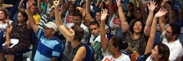 Após 24 dias, servidores da Saúde suspendem greve (Divulgação/Sindsaúde-RN)