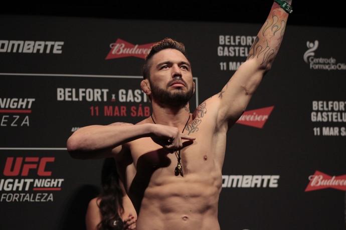 Rony Jason UFC Fortaleza pesagem MMA (Foto: Adriano Albuquerque)