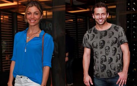Elenco se reuniu para assistir ao último capítulo de 'Flor' (Flor do Caribe/TV Globo)