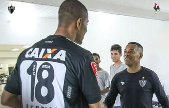 Campeão olímpico e atleticano, Lucarelli visita a Cidade do Galo