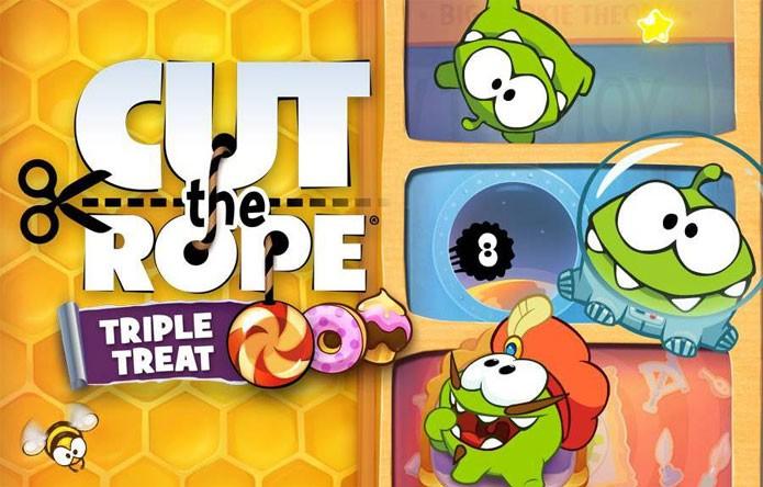 Cut The Rope: Triple Treat (Foto: Divulgação)