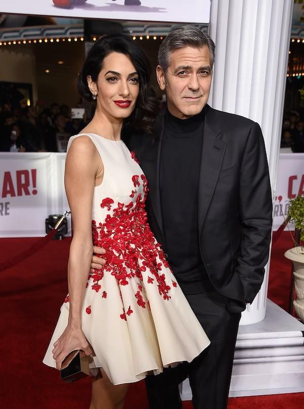 O ator George Clooney e a advogada Amal Alamuddin (Foto: Getty Images)