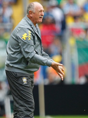 O técnico brasileiro Luiz Felipe Scolari (Foto: AP Photo/Andre Penner)