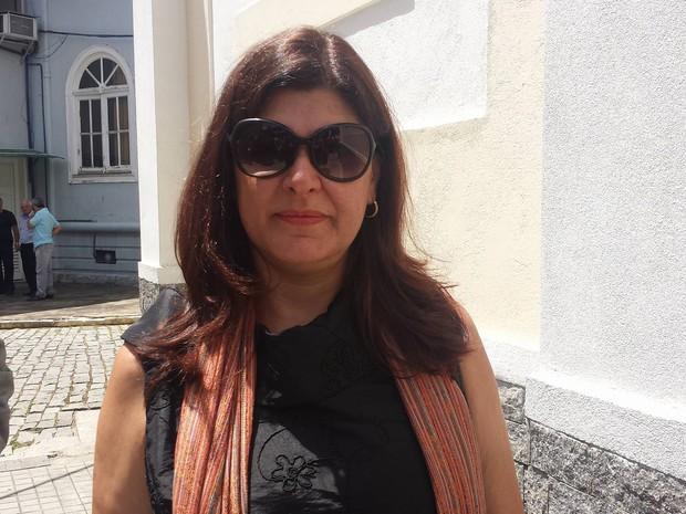 Josane Marchon, secretária de Educação (Foto: Juliana Scarini / G1)